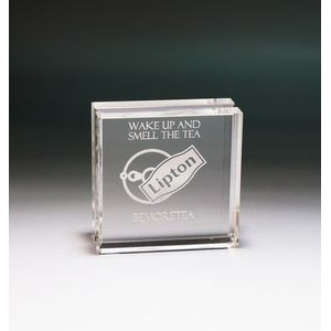 Encore Free Standing Acrylic Display Block for Coins or Medallions
