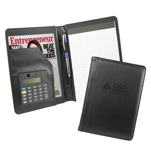 Pro Designer Junior Calculator Padfolio (Black)